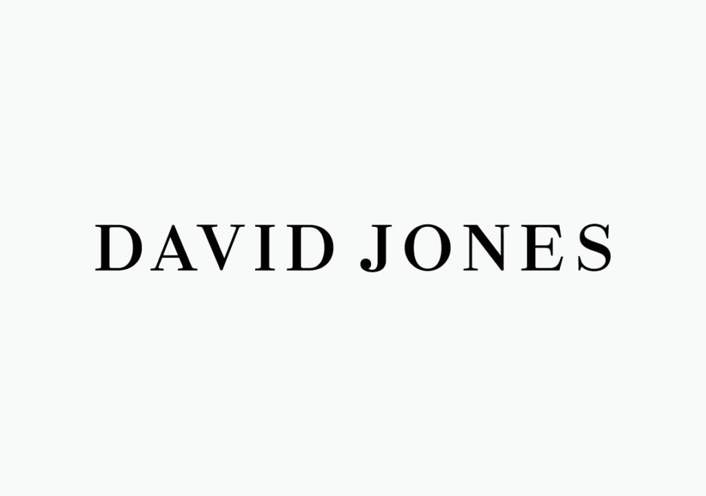 New logo for David Jones