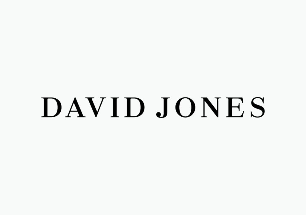 New logo for David Jones