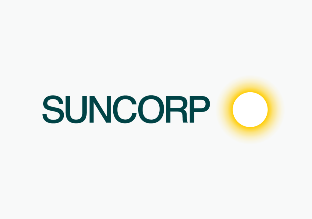 New Suncorp logo detail