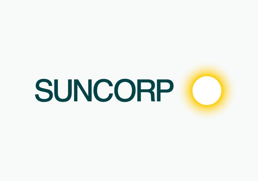 New Suncorp logo detail