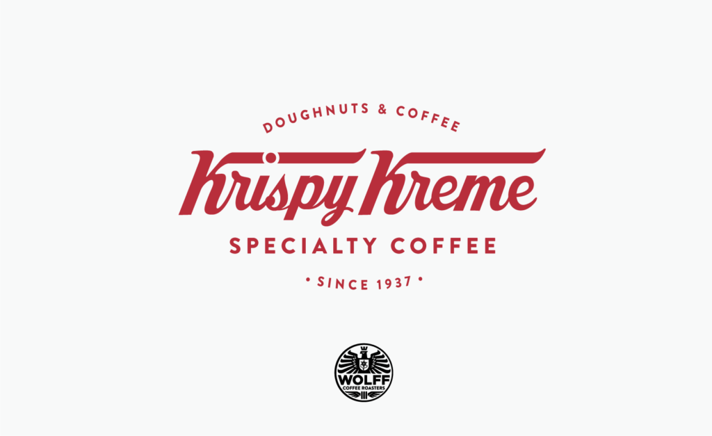 New Krispy Kreme coffee reward card (front)