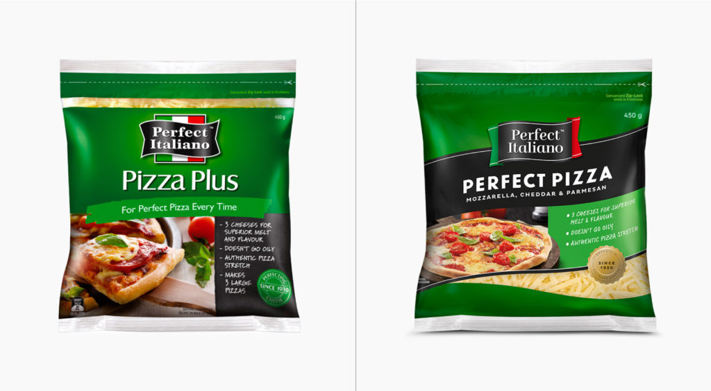 Pizza Plus/Perfect Pizza before and after