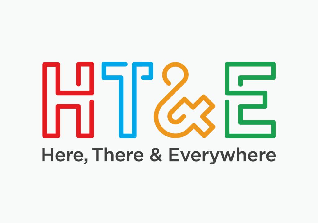 New HT&E logo detail