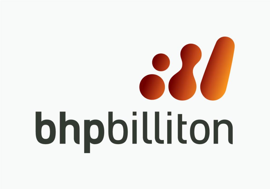 Old BHP Billiton logo detail