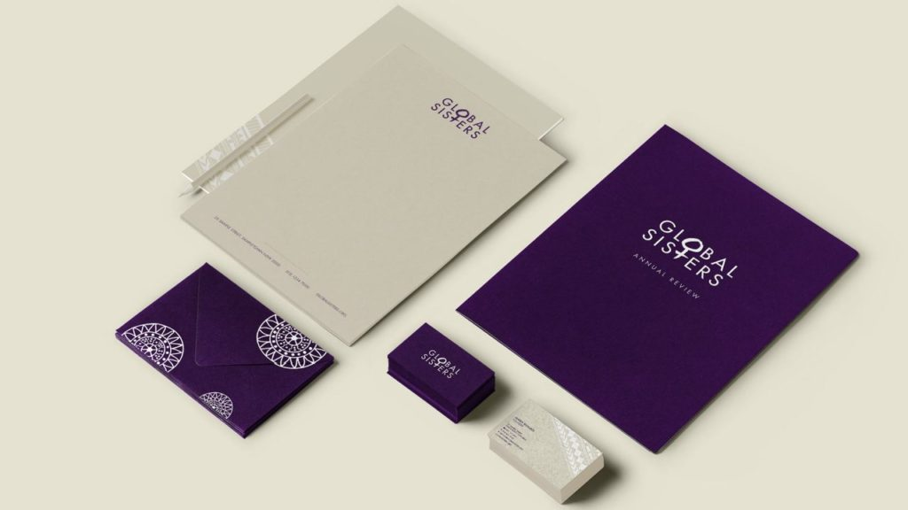 Global Sisters stationery