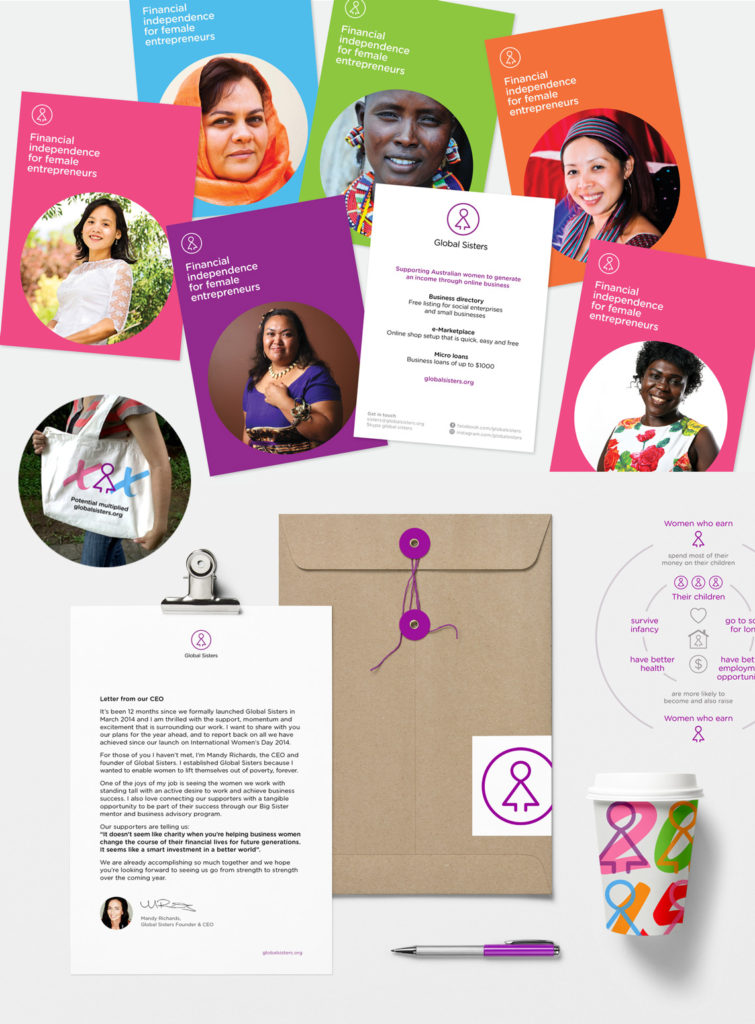 Old Global Sisters identity samples