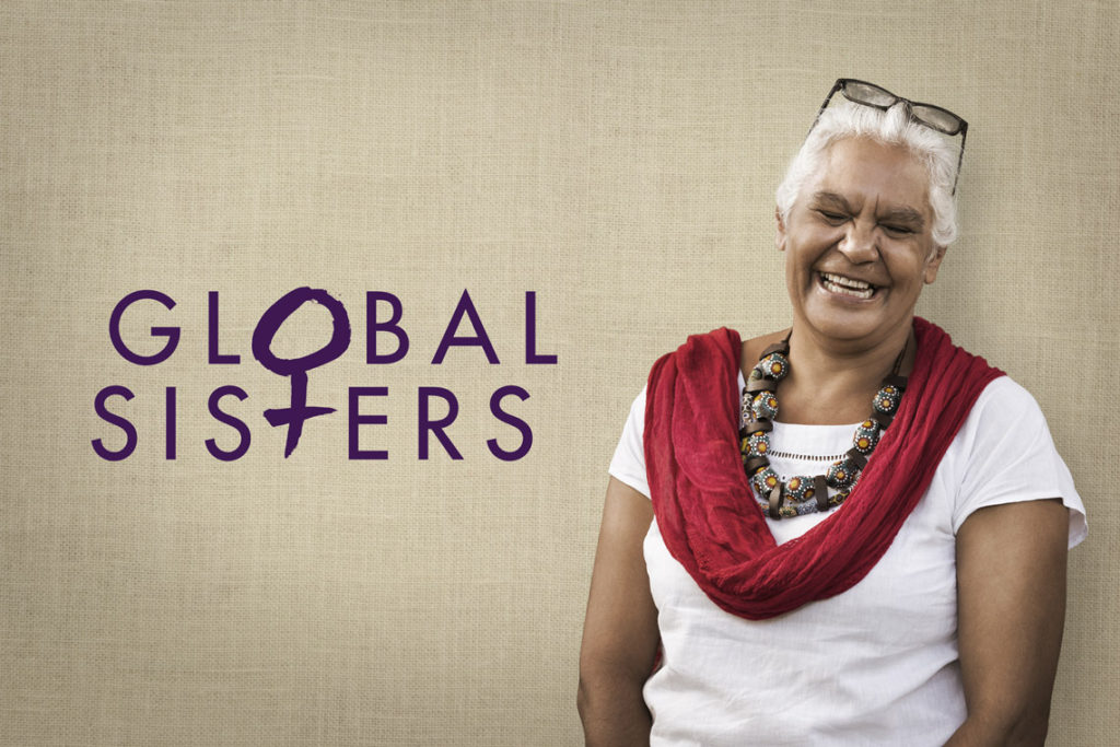 Global Sisters portrait style