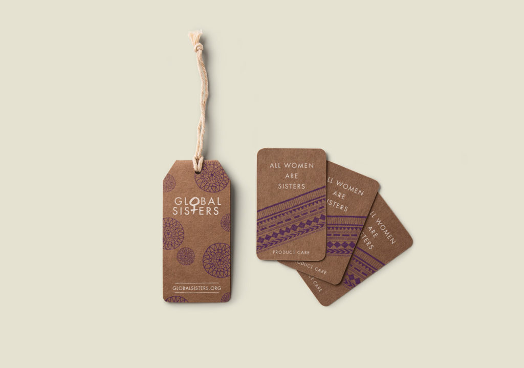 Global Sisters product tags