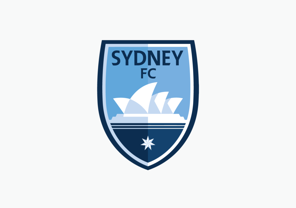 New Sydney FC logo detail