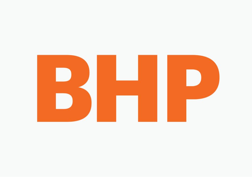 New BHP logo detail
