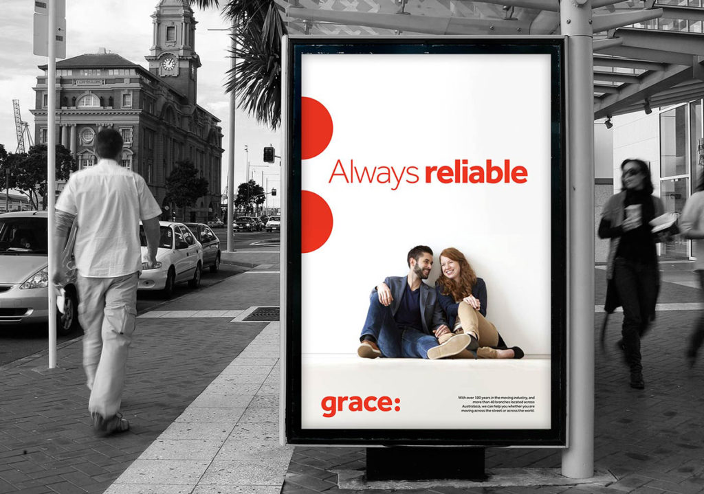 Grace outdoor poster