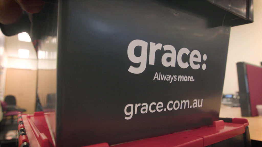 Grace storage containers