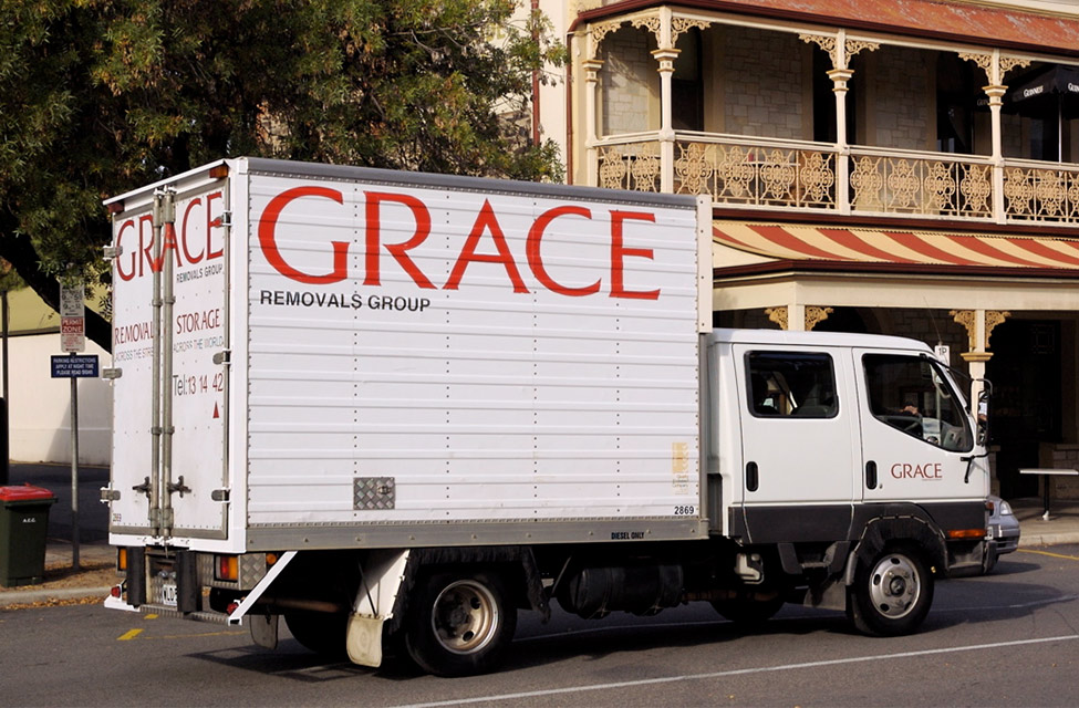 Old Grace truck livery