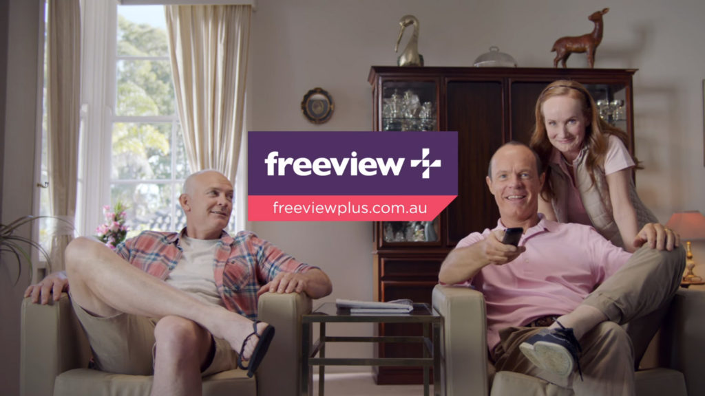 New Freeview logo in TV ad