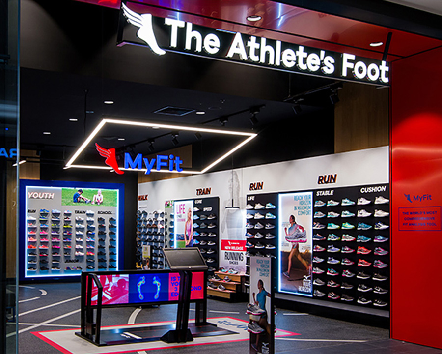 New The Athlete's Foot store design (Epping, Victoria)
