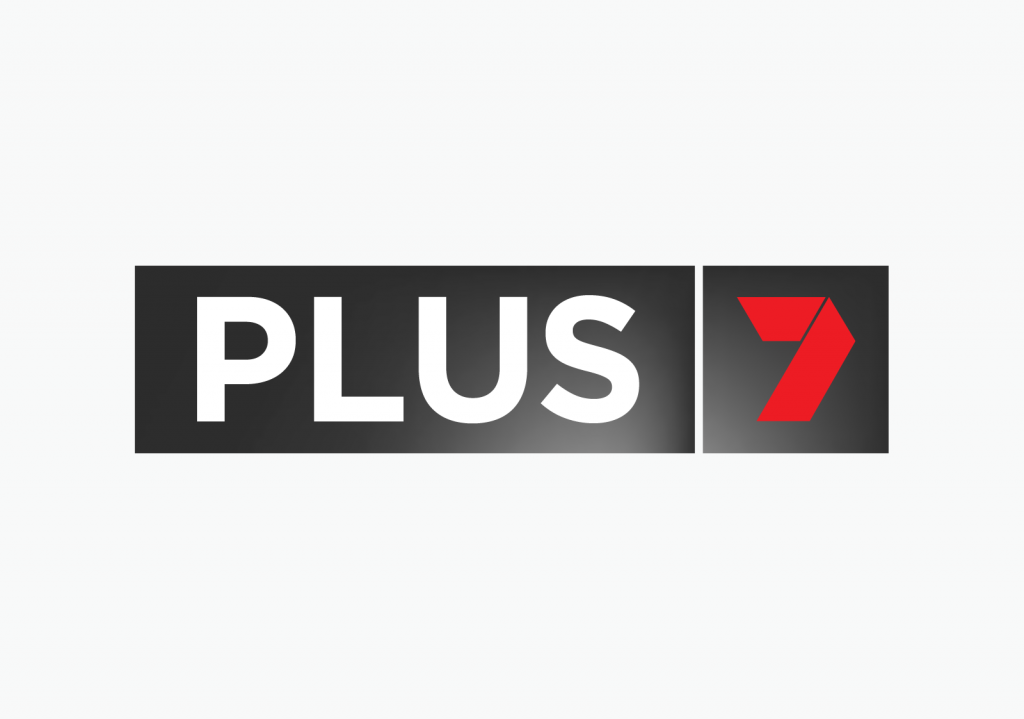 Old PLUS7 logo in detail