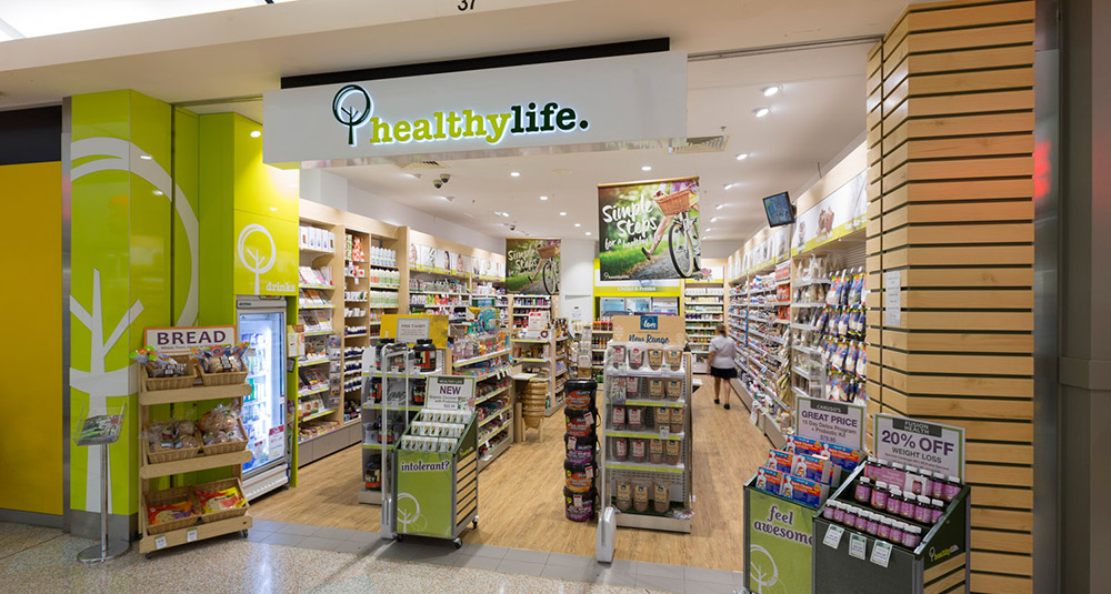 Old look Healthy Life store