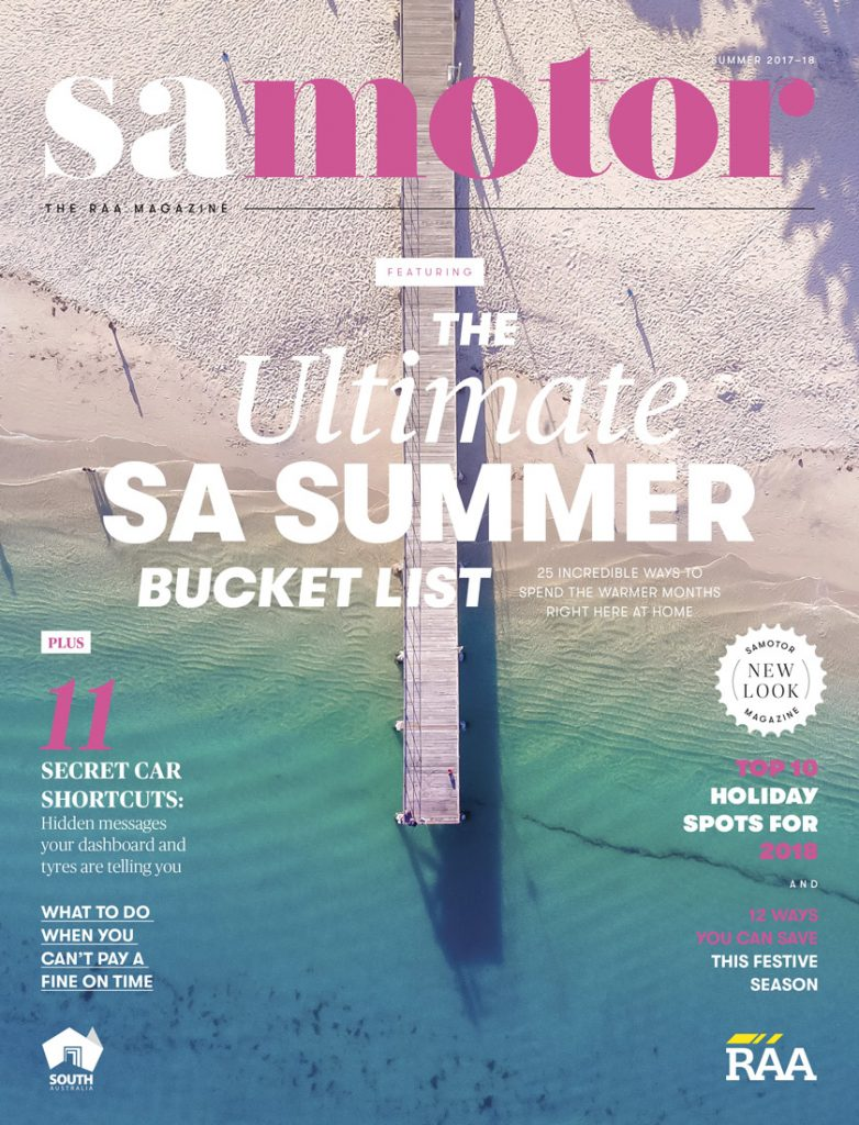 samotor magazine since redesign (Summer 2017–18)