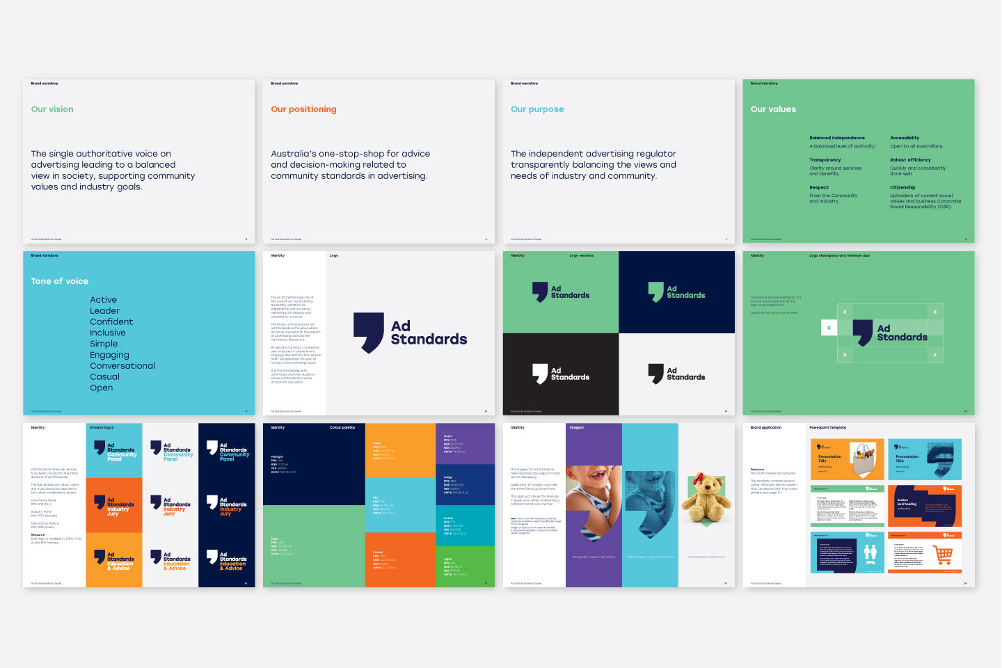 Ad Standards brand style guide