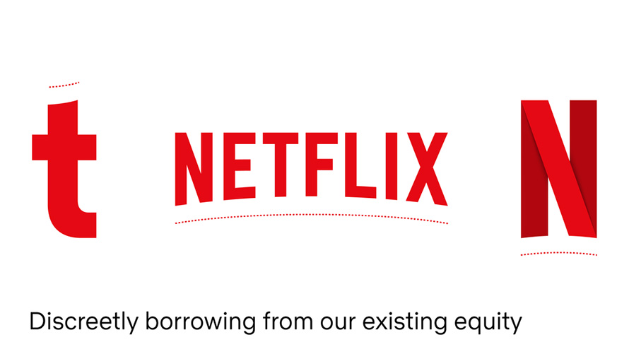 Netflix Sans is subtly inspired by the curve of the Netflix logo and icon