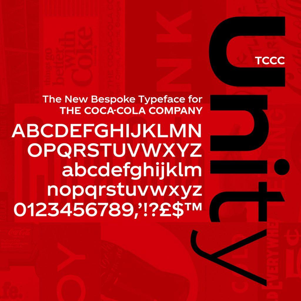 TCCC Unity basic character set