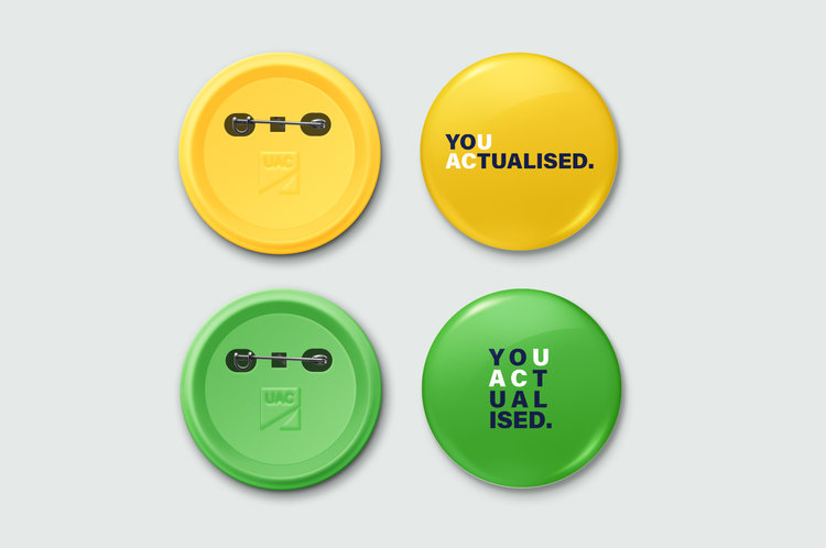 Universities Admissions Centre button badges