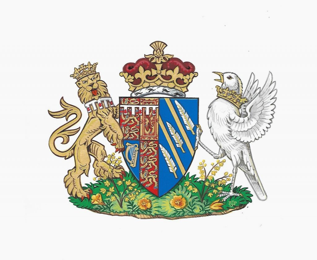 The Coat of Arms created for the Duchess of Sussex