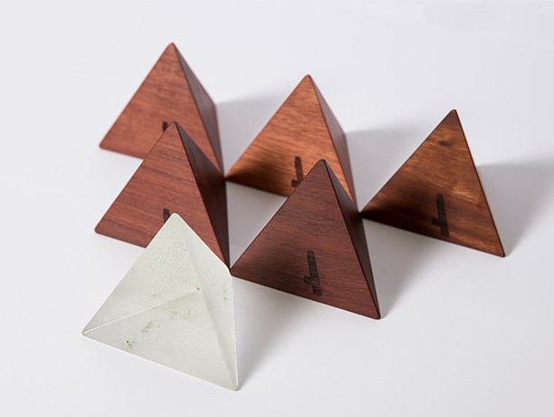 AGDA Design Awards trophies