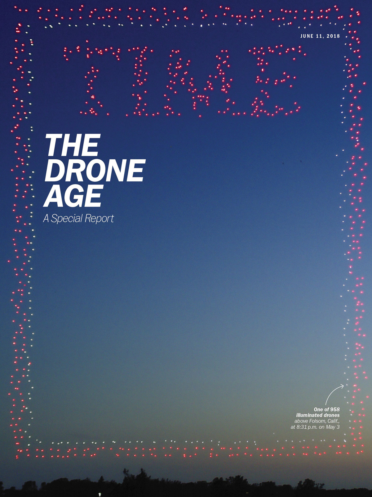 TIME Magazine cover (June 11, 2018 issue)