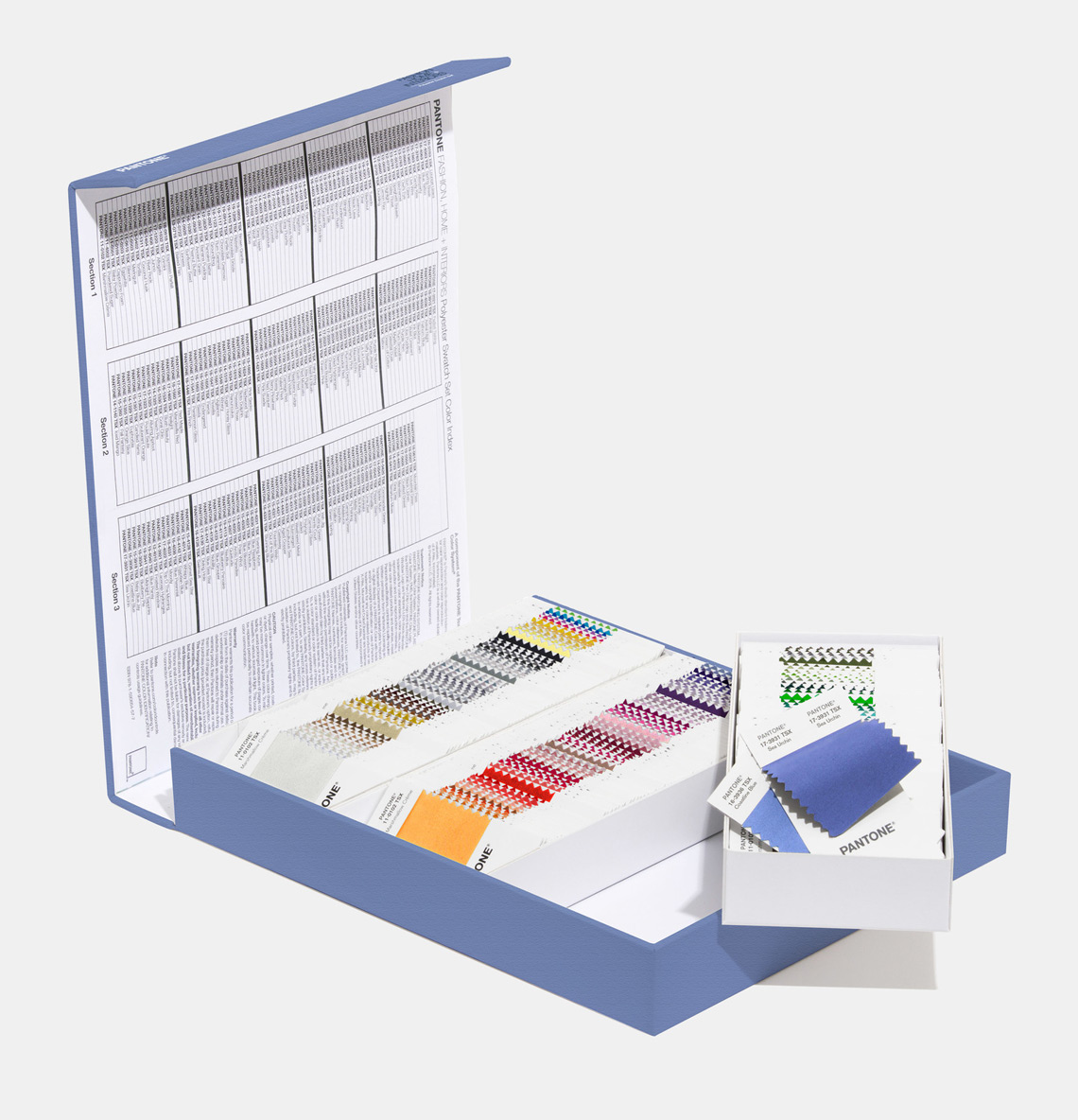 Pantone Polyester Swatch Set storage case