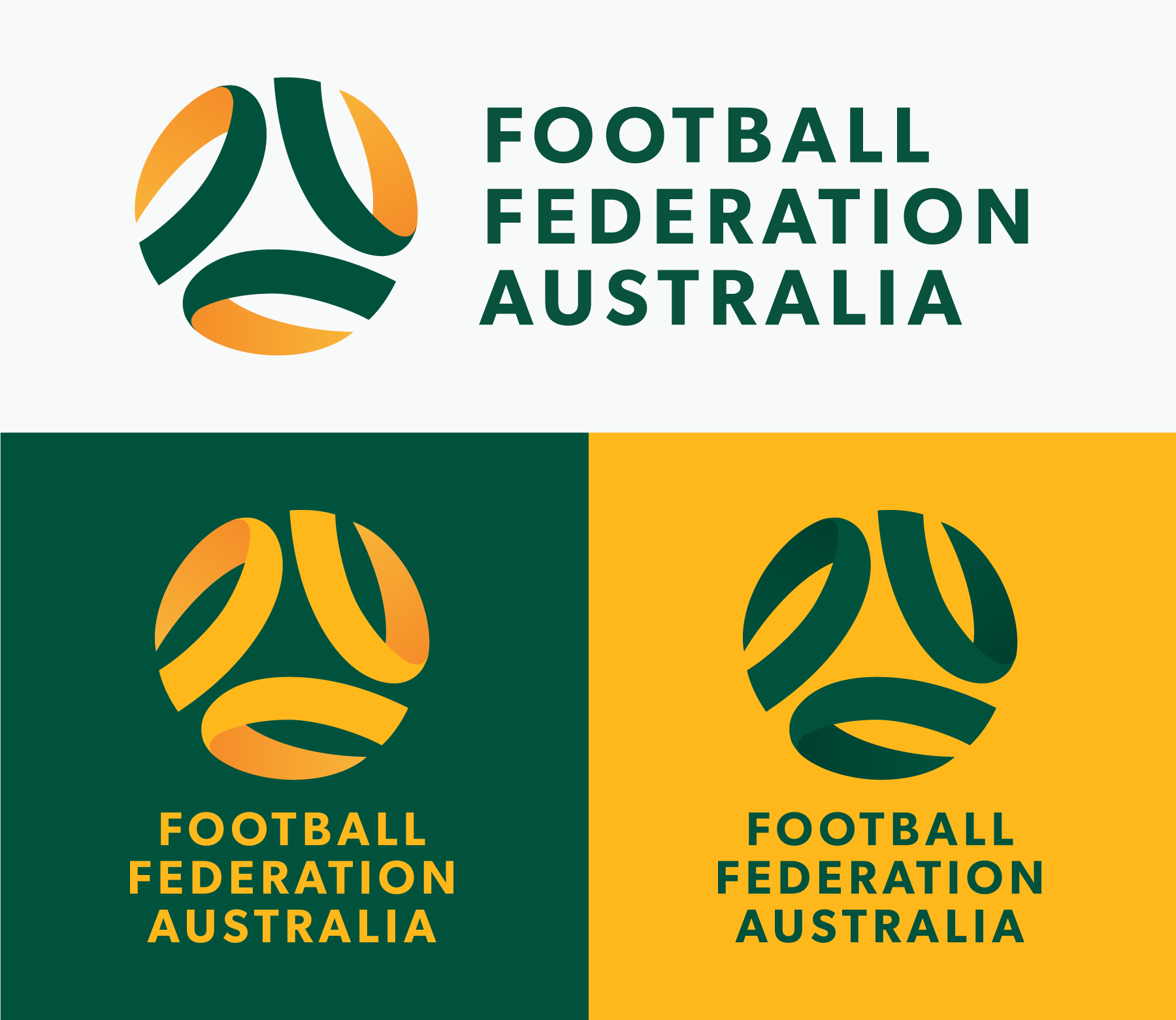 Alternate Football Federation Australia logos